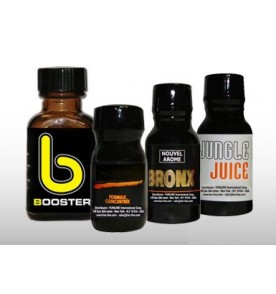 Trial kit of 4 Poppers