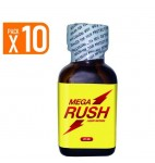 Lot de 10 Mega Rush 25 ml