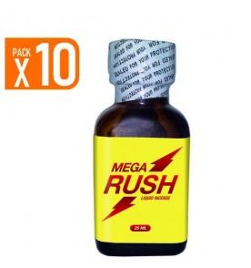 Pack of 10 Mega Rush 25 ml