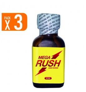 pack of 3 Mega Rush 25 ml