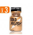 LOT DE 3 GOLD RUSH (10 ml)