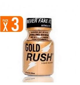 LOT DE 3 GOLD RUSH (10 ml)