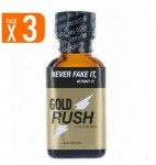 LOT DE 3 MAXI GOLD RUSH (25 ml)