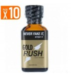PACK OF 10 MAXI GOLD RUSH (25 ml)