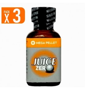 LOT DE 3 JUICE ZERO (25 ml)