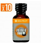 LOT DE 10 JUICE ZERO (25 ml)
