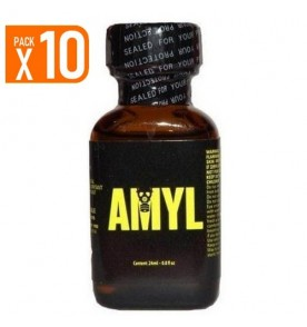 LOT DE 10 AMYL POPPERS 24 ML